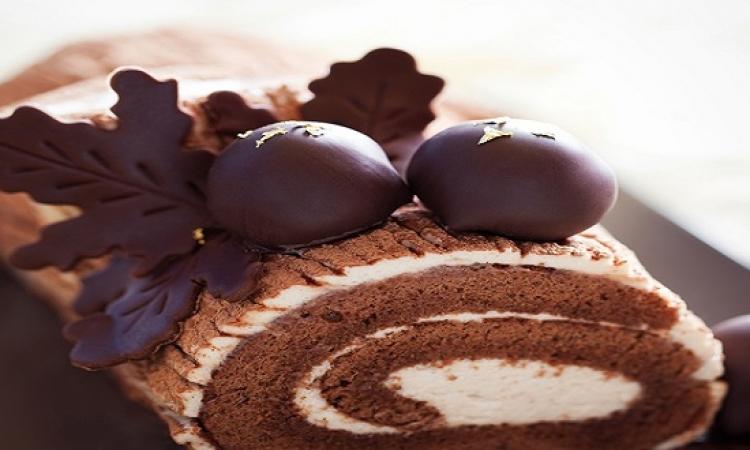 حلو اليوم :  طريقة تحضير كعكة الميلاد