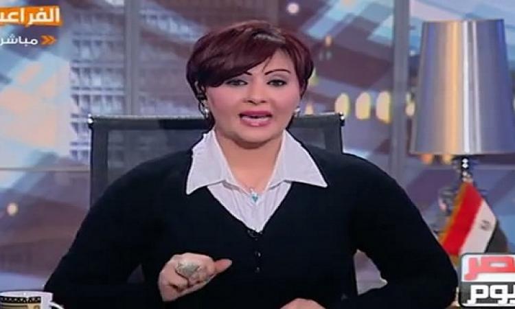 بالفيديو .. حياة الدرديرى تهاجم مذيعة ظهرت بملابس داخلية على الهواء !!