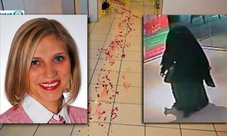 بالفيديو .. كيفية القبض على «شبح الريم» المنتقبة المتهمة بقتل مدرسة أمريكية بأبو ظبى