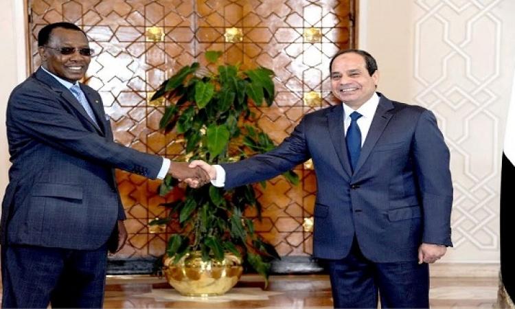 توقيع مذكرتى تفاهم بين مصر وتشاد للتعاون فى مجالات الصحة والزراعة والرى