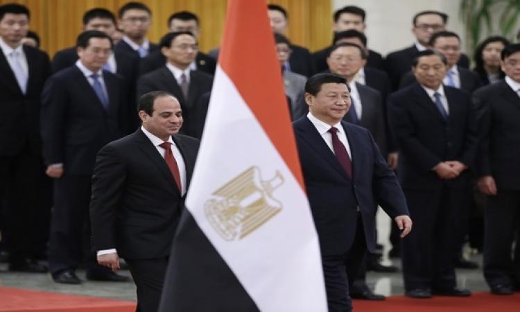 رئيس الصين يدعو السيسى لزيارة بلاده للاحتفال بذكرى الانتصار فى الحرب العالمية الثانية