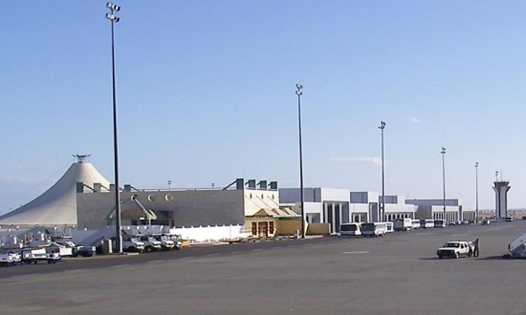 دعما للسياحة .. السيسى يفتتح مبنى الركاب الجديد بمطار الغردقة