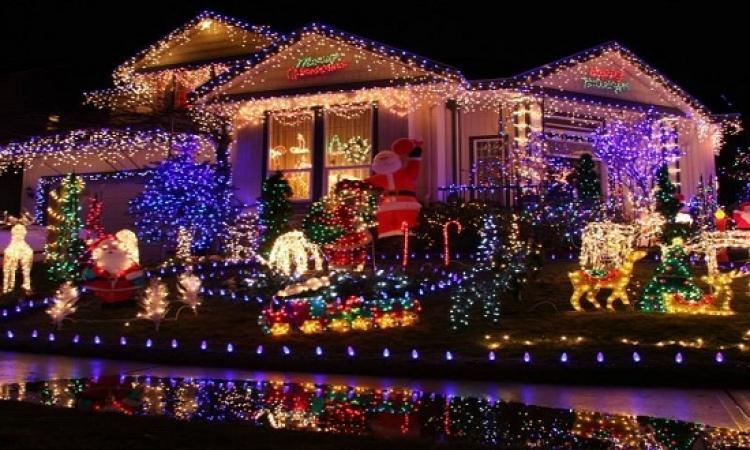 بالصور .. بدء احتفالات الكريسماس فى عدد من دول العالم