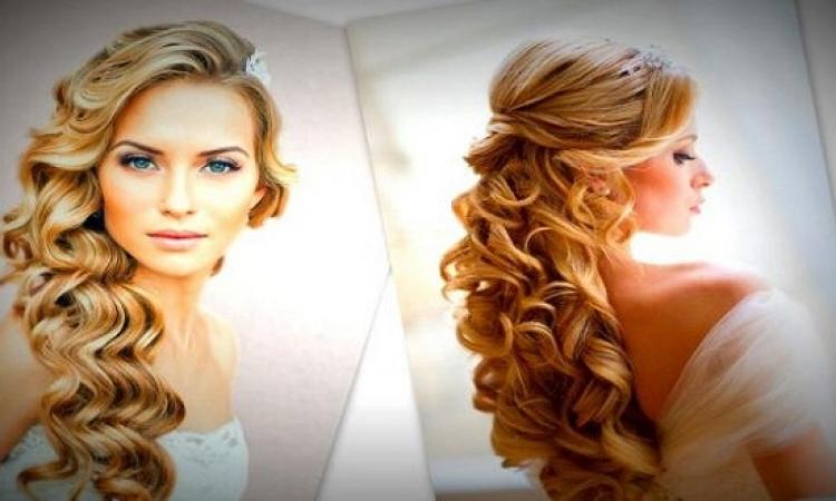 بالصور للشعر المموج ..  4 نصائح لكلّ تسريحة تختارينها لزفافك