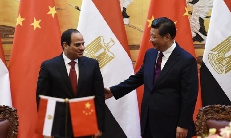السيسى يعود لأرض الوطن بعد زياره رسميه للصين أستغرقت 4 أيام