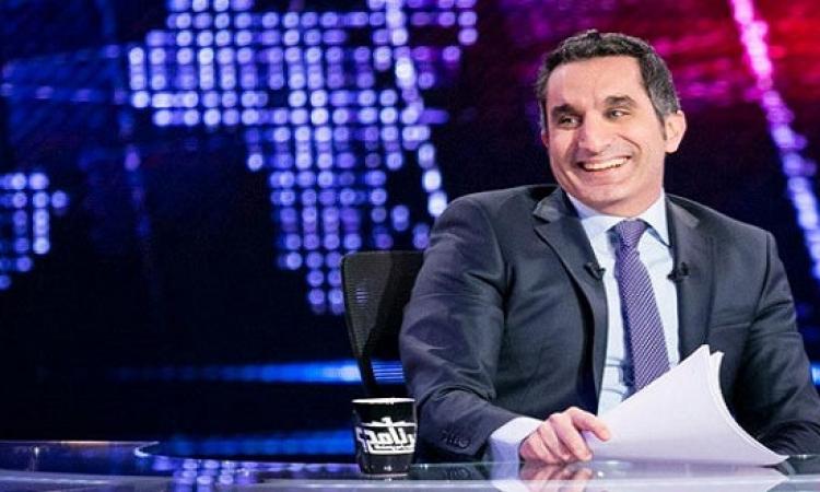 باسم يوسف يسخر من نادر بكار: منحة وزارة المالية مش هارفارد