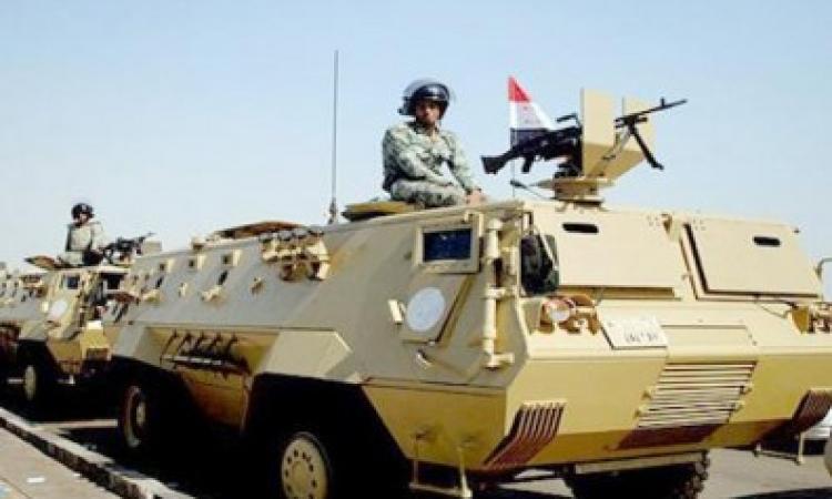الجيش يعزز تواجده بشارع جامعة الدول بتوجيه 6 مدرعات