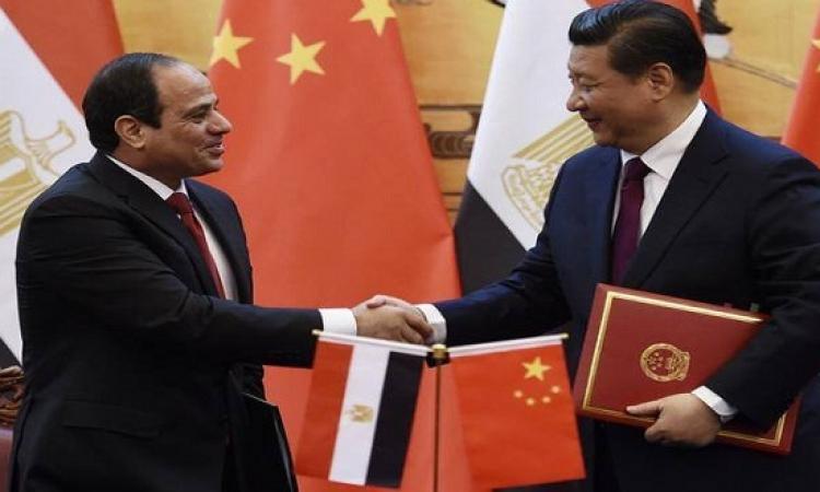 السيسى وجين بينغ يوقعان بيانا لإقامة علاقات شراكة استراتيجية شاملة بين البلدين