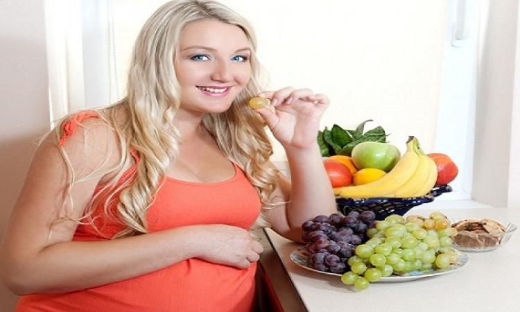 نظامك الغذائى اثناء الحمل يزيد فرص أصابة جنينك بالربو