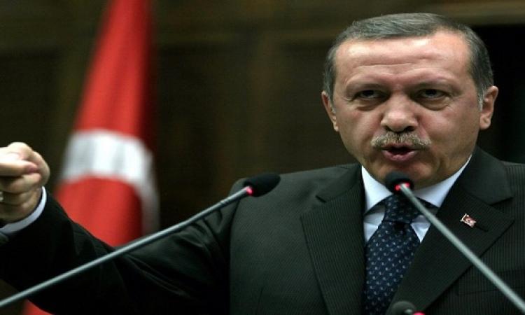 أردوغان ينتقد سعي مصر للقبض على القرضاوي