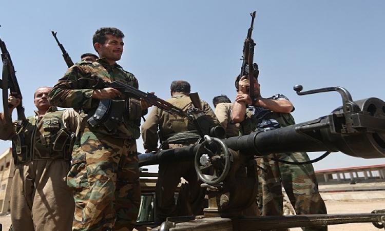 الأكراد يكسرون حصار تنظيم داعش لجبل سنجار بالعراق