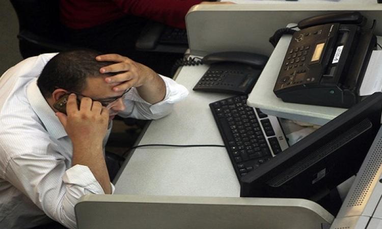 تراجع تعاملات البورصة ومؤشرها ينخفض 8.67 % للأسبوع الثالث