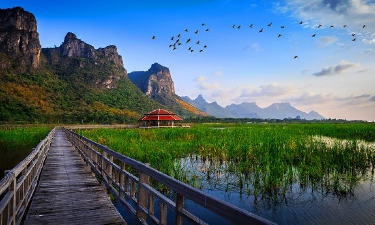شاهد سحر وجمال الطبيعة الخلاب فى ربوع تايلاند