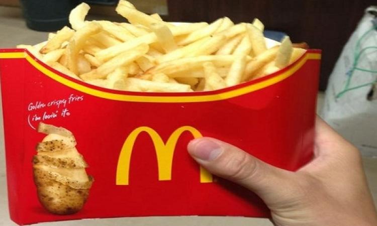 ماكدونالدز تعلن الطوارئ لحل أزمة البطاطس