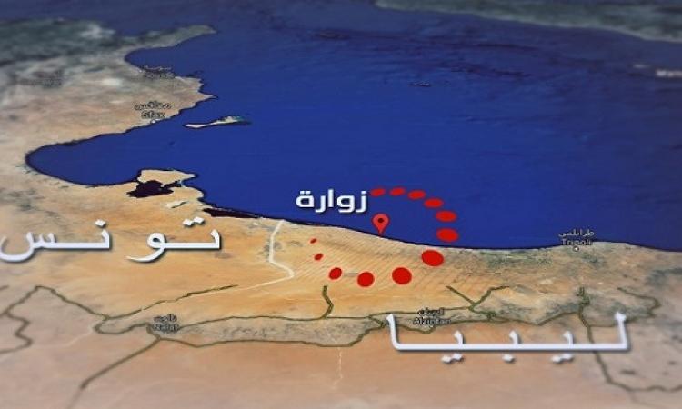 غارات جوية قرب ميناء نفطى فى شرق ليبيا والحدود مع تونس