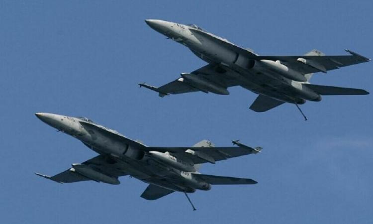 طائرات حربية إسرائيلية تشن غارتين قرب العاصمة السورية دمشق