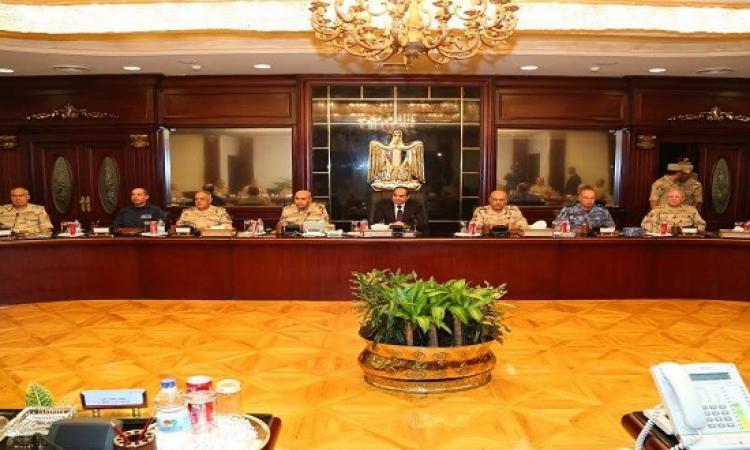 السيسى : مصر تواجه أكبر تنظيم سرى فى العالم .. وستنتصر على الارهاب