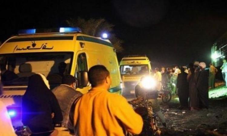 إصابة 3 مجندين إثر انفجار إطار سيارة نقل فى الوادى الجديد