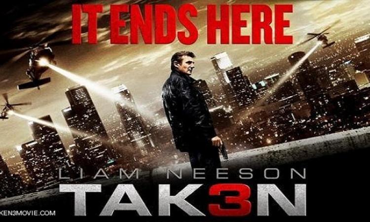 Taken 3 يواصل تصدر إيرادات السينما الأمريكية ويجمع 40 مليون دولار فى ثلاثة أيام