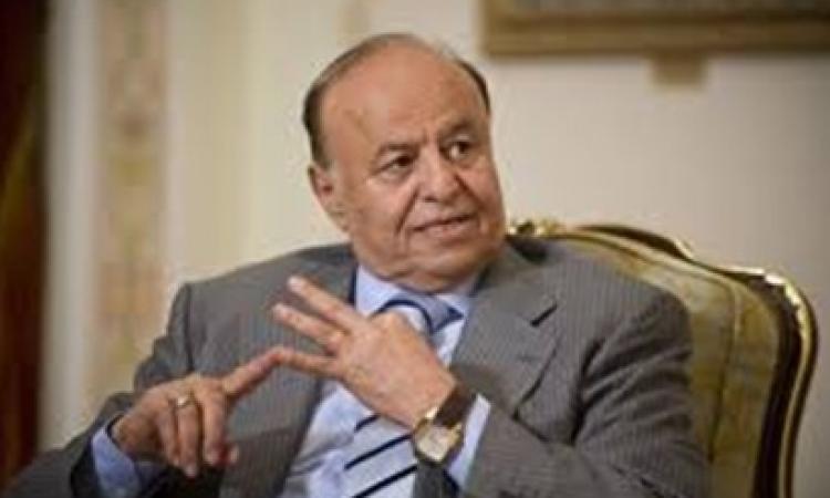 سر استقالة الرئيس اليمنى من منصبة