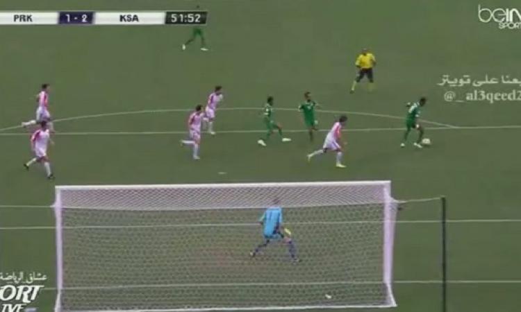 بالفيديو .. السعودية تصعق كوريا الشمالية برباعية فى كأس آسيا