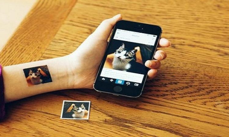 خدمة جديدة تتيح طباعة صورInstagram على الجسد