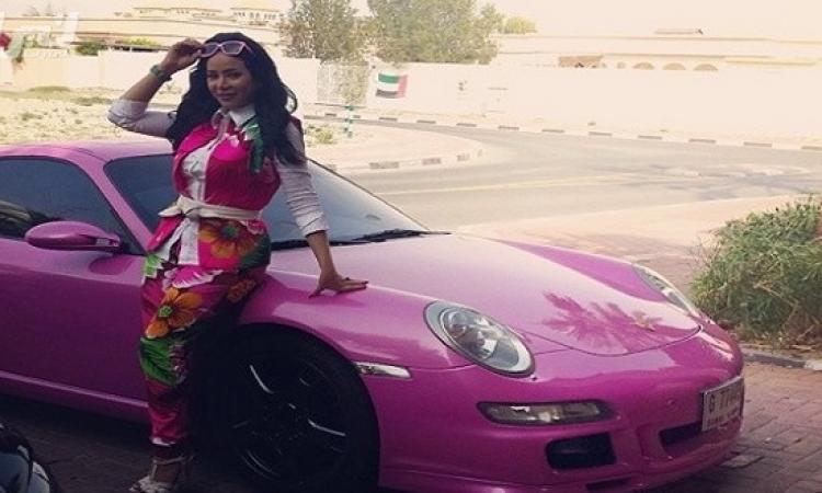 لوجين عمران ولون جديد لسيارتها بعد 6 سنوات مع نفس اللون