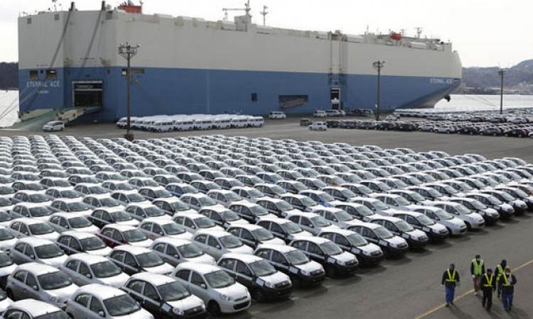 بدء تخفيض رسوم جمارك السيارات الأوروبية 10 % اعتبارا من اليوم