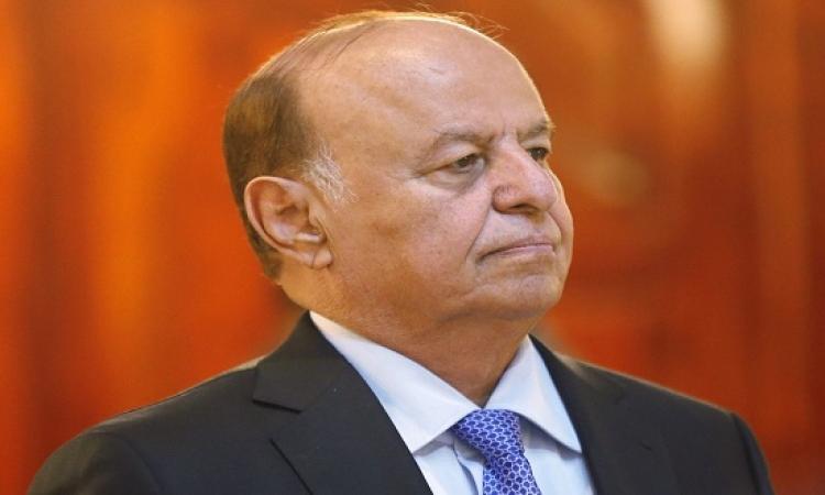 عبد ربه منصور هادى يصل سلطنة عمان برًا