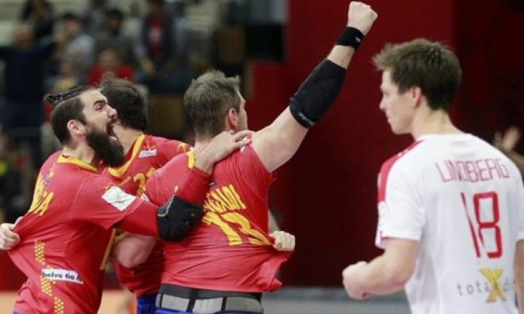 إسبانيا تتأهل فى مونديال اليد فى الوقت القاتل