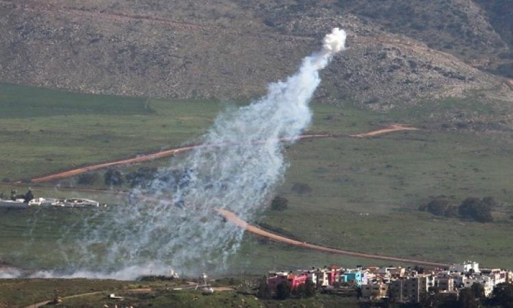 قصف مدفعى متبادل بين اسرائيل وحزب الله على الحدود الاسرائيلية اللبنانية