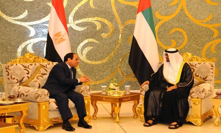 برنامج الرئيس فى الامارات .. استقبال رسمى فبماحثات قمة ثم لقاء مع رجال اعمال