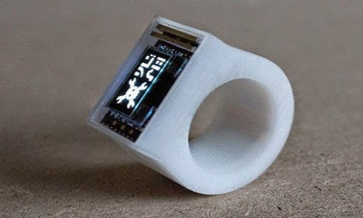 """""""Ö ring"""" خاتم ذكى بالطباعة ثلاثية الأبعاد يغنيك عن الهاتف"""