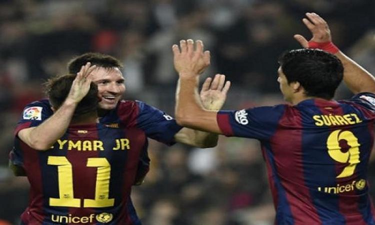 ميسي ينقذ برشلونة من كمين أتلتيكو مدريد