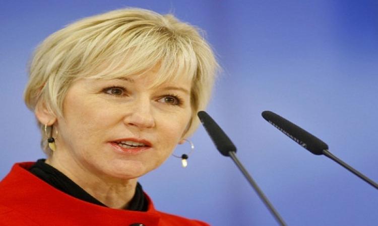 السويد: إسرائيل تجاوزت كل الحدود وتصريحاتها ضدنا لا يتقبلها الوعى