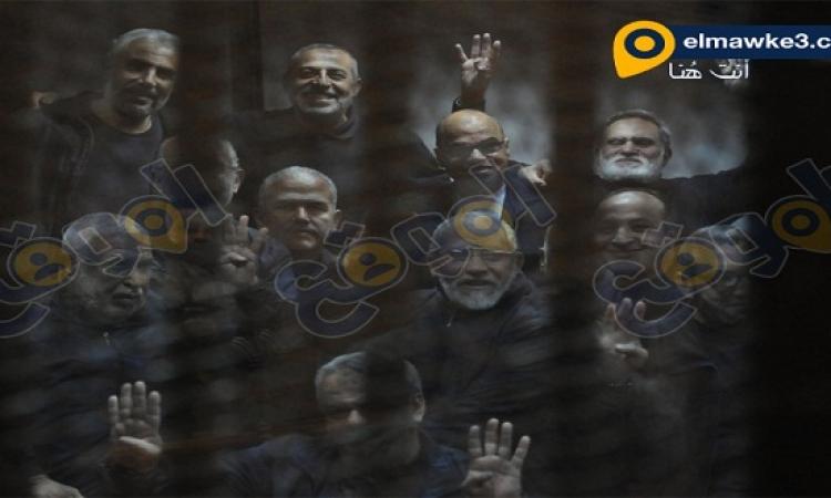 بالصور .. جلسة قضية هروب مرسى وأخرين من سجن وادى النطرون