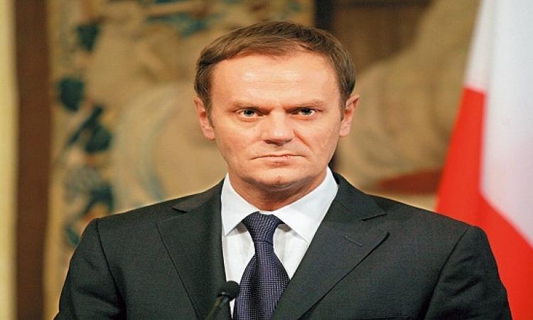 """""""دونالد توسك"""" يدعو لتخصيص القمة الاوروبية فبراير القادم لمكافحة الارهاب"""