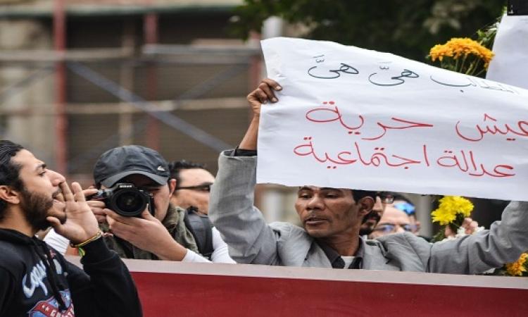 النيابة تقرر إخلاء سبيل 6 من المقبوض عليهم فى تظاهرة حزب التحالف الشعبى بميدان التحرير