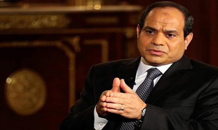 السيسى يطالب بتنفيذ خطة عاجلة لإجلاء الراغبين فى العودة من ليبيا