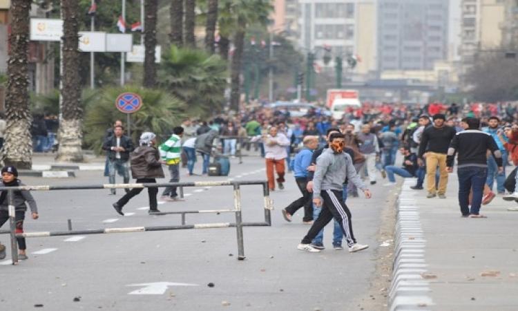 في ذكرى 25 يناير.. 18 قتيلا واشتباكات بين الأمن ومتظاهرين بوسط العاصمة وعدة محافظات