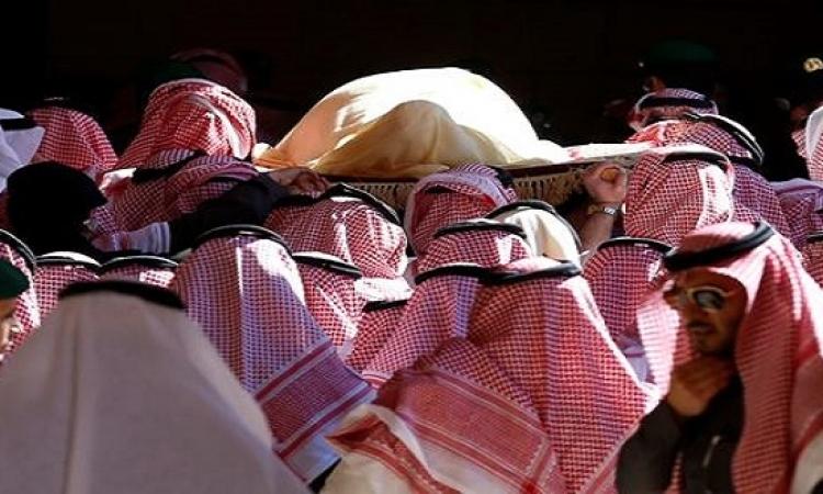 بالصور. . مراسم  جنازة ملك السعودية