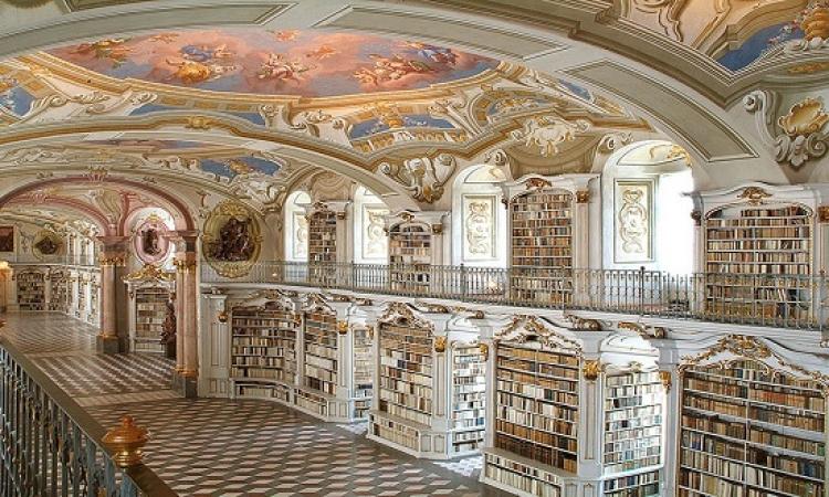 بالصور .. كأنك فى متحف فنى .. تعرف على أفضل المكتبات فى العالم