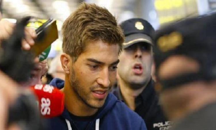 بالصور .. وصول لوكاس سيلفا إلى مدريد