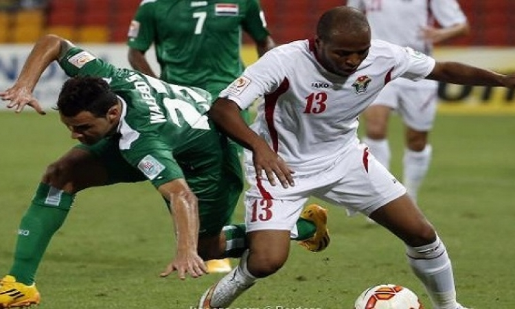 أسود العراق يهزمون الأردن فى مباراة تكتيكية بكأس آسيا