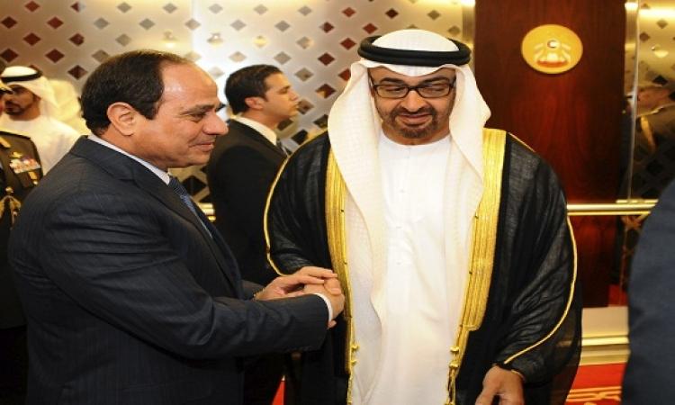 تفاصيل اليوم الأول لزيارة الرئيس عبد الفتاح السيسى إلى دولة الإمارات