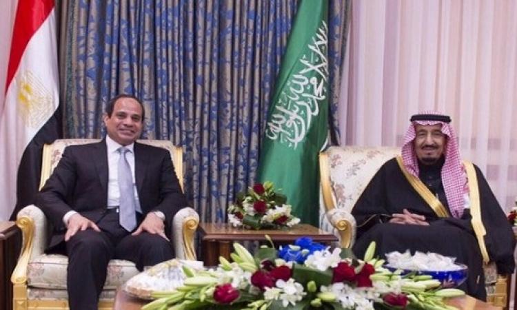 اتصال هاتفى بين العاهل السعودى و السيسى ..  موقف السعودية تجاه مصر ثابت