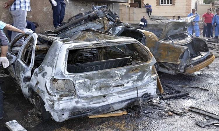 مقتل إرهابيين وإصابة ضابط فى إحباط محاولة تفجير قسم الشيخ زويد