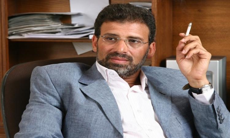 مباحث الانترنت تبرىء خالد يوسف : هو اللى تعرض للتحرش !!
