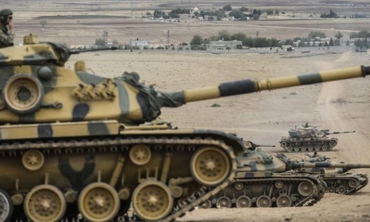 عملية عسكرية تركية خاطفة داخل سوريا لاجلاء جنودها من ضريح سليمان