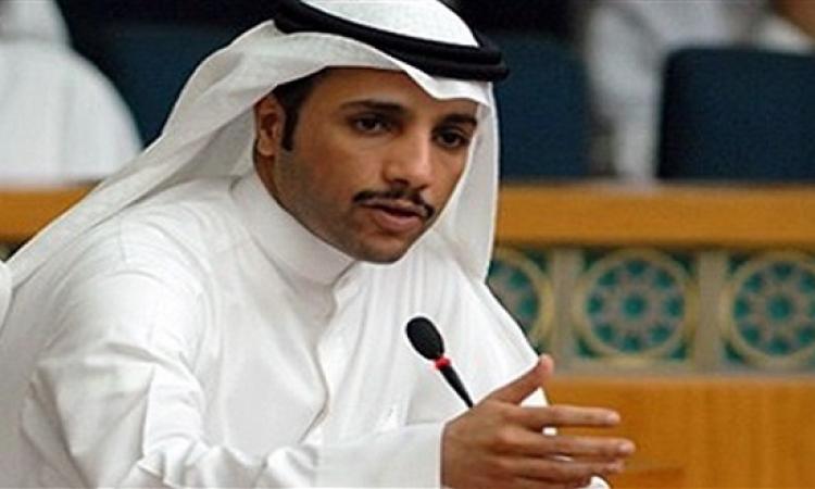 """رئيس مجلس الأمة الكويتى لـ""""محلب"""": دعم مصر واجب شرعى"""